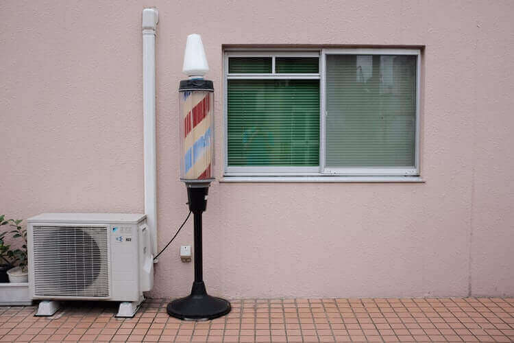 What is the easiest way to clean a window air conditioner